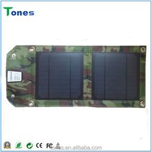 foldable waterproof 5W solar charger,flexible solar charger,mobile solar charger