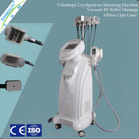 Vertical Vacuum Liposuction Roller Massage RF Laser fat cryo machine