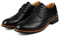 в наличии! Новые мужчины платье обувь мужчин кожа Оксфорд обувь для мужчин бизнес обувь подлинной указал 2 цвета 38-43
