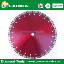 sharp and fast cutting turbo segmented diamond saw blade for concrete with excellent performance