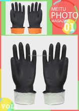 Industrial Heavy Duty Rubber Gloves / Heavy Rubber Gloves