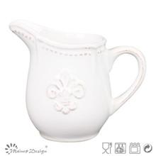 Cerâmica banquete jarro de leite creamer / açúcar e desnatadeira tigela fabricante porcelana cerâmica