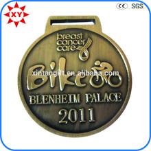 Bici da corsa di produzione sport medaglia del metallo, sport premio medaglia di metallo
