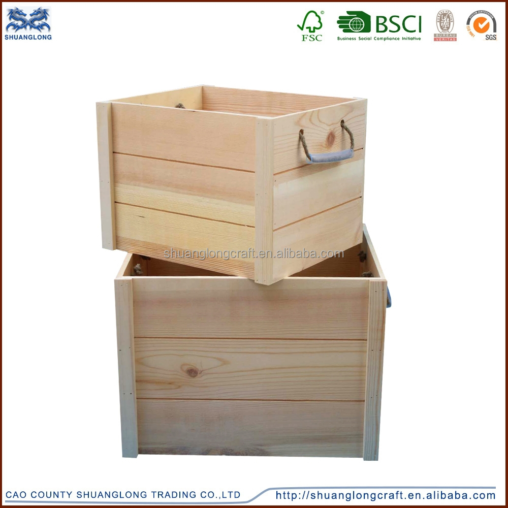 Buy wood wine crates autos post for Where do i find wooden crates