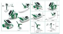Solar Energy toys Learning Toy Machine 6 In1 Solar Kit Educational Toy for children Kids DIY Solar Kits Solar Toys