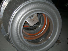 Hot sell two piece mold for making bias tyres