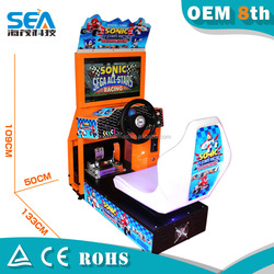 A02 2015 haimao New listing arcade car racing playing high quality and returns suit for kids and adult japan video games