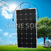 Custom design 1W to 300W high efficency flexible solar panel, OEM is welcome