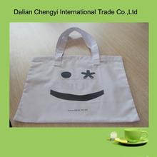 Cheap Cotton unbleached Promotional Plain Shoulder Bags