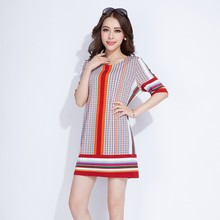 high quality factory price printed women shirts and tops