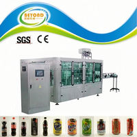 soft drink canning machine tin can