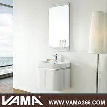 VAMA Wall Mounted Solid Wood Modern Slim Vanity Bathroom
