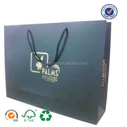 U color Customized brown grocery paper bag