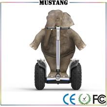 2 ruedas Autobalanceo pie tarjeta de débito de scooter eléctrico de 19 pulgadas para el alquiler