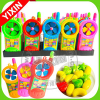 Fashion Hoodlel Plastic Sweet Taste Mobile With Fan Candy Toy Products