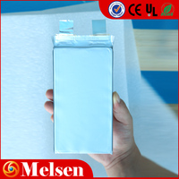 Factory high rate ultra thin 3.2v rechargeable parts dry cell battery