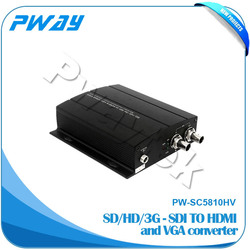 High resolution coaxial to optical digital audio converter