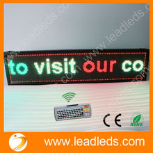2015 STRONG ALUMINUM ALLOY FRAME RUNNING TEXT WIRELESS LED LIGHTING DISPLAY SIGN WITH KEYBOARD