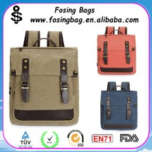 Factory wholesale Canvas new female high school students shoulder one strap backpack can be customized
