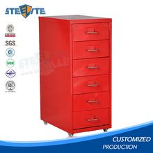 Ikea furniture korea small stainless steel storage cabinet metal drawer cabinet