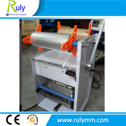 rectangle PP PET PE material food box/tray/container sealer