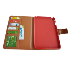 Hot Selling Genuine Leather Wallet Leather Tablet Case