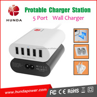China Supplier Travel Products High Quality Multi USB Adapter 6 Port Wall Charging Station for World Travel