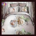 haute qualité rose 3d ensemble de lit