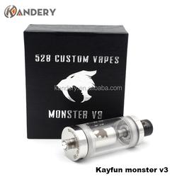 2015 New design 1:1 clone rda kayfun monster v3 /rda tank atomizer kayfun monster v3/Alibaba express rda atomizer