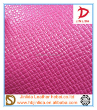 sale high quality pvc jinlida leather for bags