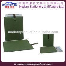 envelope shape leather belt clip case for ipad mini