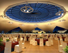 ETFE film roofing structures