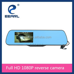 Full HD 1080P Dual Lens Camera Allwinner A10 Rear View Camera for Car with 4.3 inch Screen