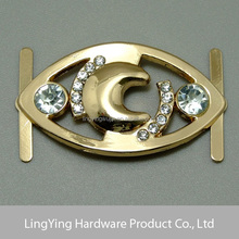2015 New arrival graceful shoe decorations shoe buckle with rhinestone