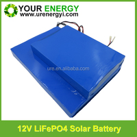 rechargeable 12v 36Ah lithium battery pack for solar panels