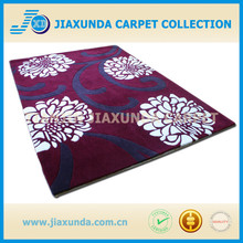 Hechos a mano chino barato comercial oriental tallado de acrílico de lana a mano copetuda alfombra