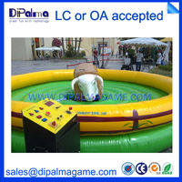 new design PVC material bull ride inflatable amusement park equipment for sale