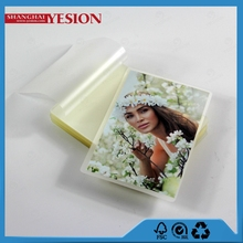 Yesion New Product High Quality USA Standard 1/2 LETTER / PHOTO Size Laminating Film(152*229mm) Photo Lamination Film Puches