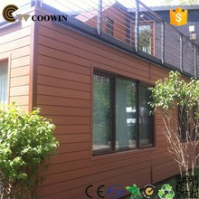wood plastic composite wall panel easy installation and anti-UV solar panel