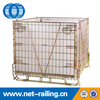 PET Preform metal cage storage container