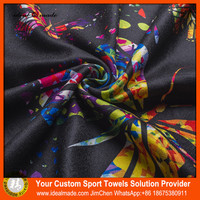 2015 Newly Developed Sport Promotion Towel With Recyclable Microfiber Material 340gsm