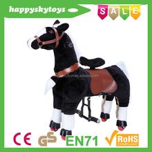 Funny ride toys!!!stuffed horse toy,promotional custom stuffed plush horse animal toys,zodiac toy stuffed animals