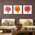 Nuevos productos calientes para 2015 moderna pintura del arte sin marco decoración de la pared