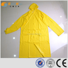 SUNNYHOPE waterproof yellow pvc overall raincoat prices for adults