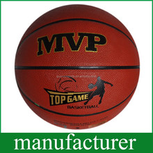 GY-D053 New Arrival size7 Basketball Durable PU Soft Touch Absorb Sweat Leather customized
