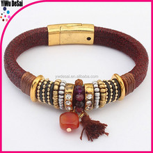 New design jewelry bangles tassle decorate pendant national bangles men fashion