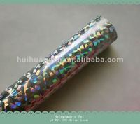 HOLOGRAPHIC FOIL Silver The popular design for printing and packing industry