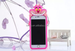 2015 New Super Cute Pink Pony Cat Soft Silicon Protector Shell Case For Apple Iphone 6 6plus 5 5s
