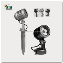 Newest Aluminum Die Casting,15W RGB 24V LED Garden Light,Spot light