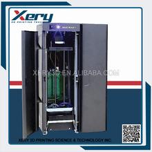 Closed Print Environment printing flexible material